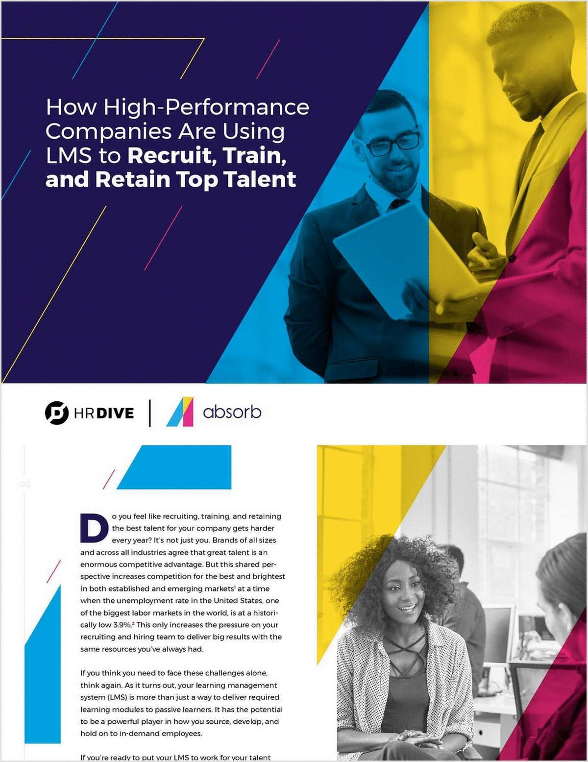 How High-Performance Companies Are Using LMS to Recruit, Train and Retain Top Talent