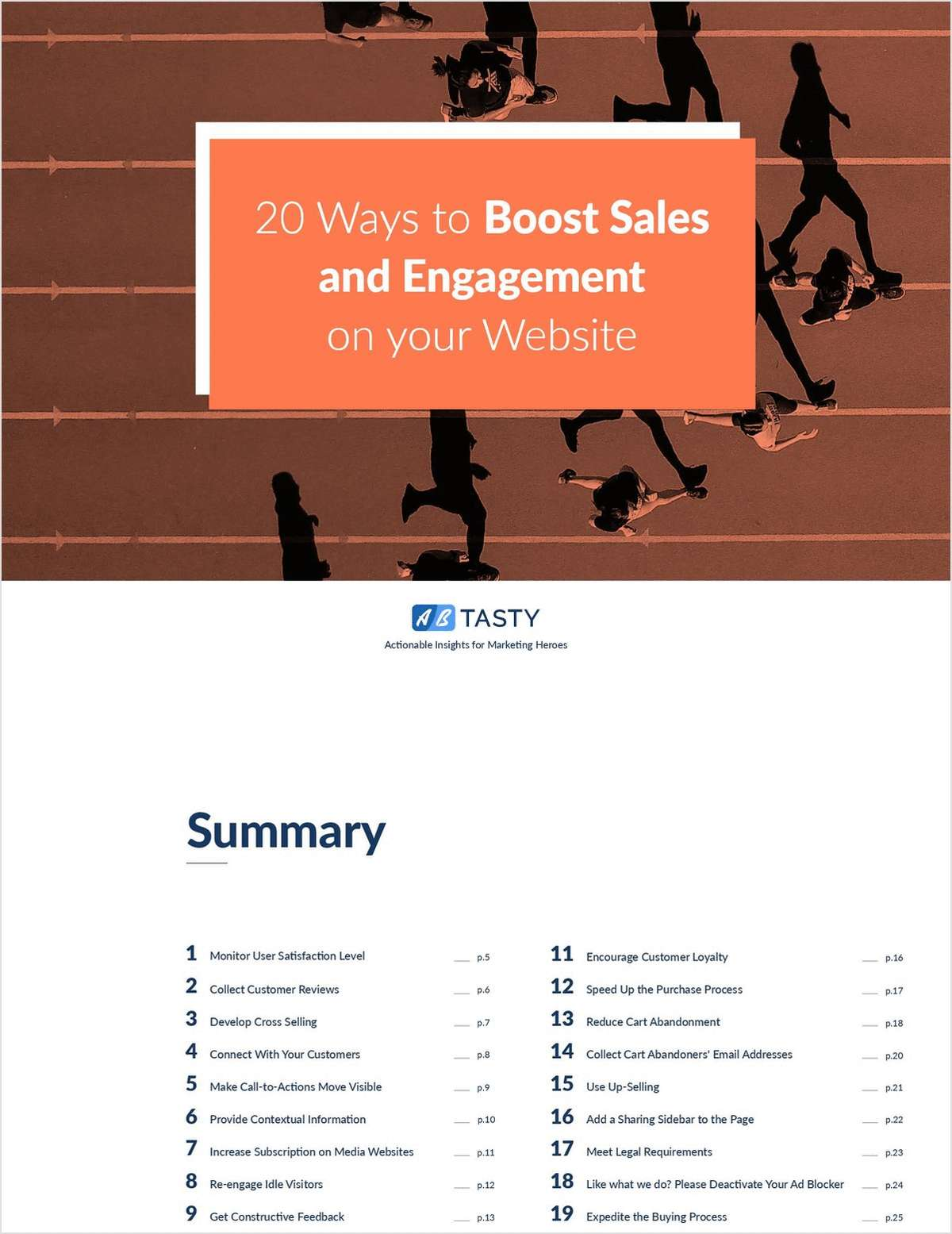 20 Ways to Boost Sales and Engagement on your Website