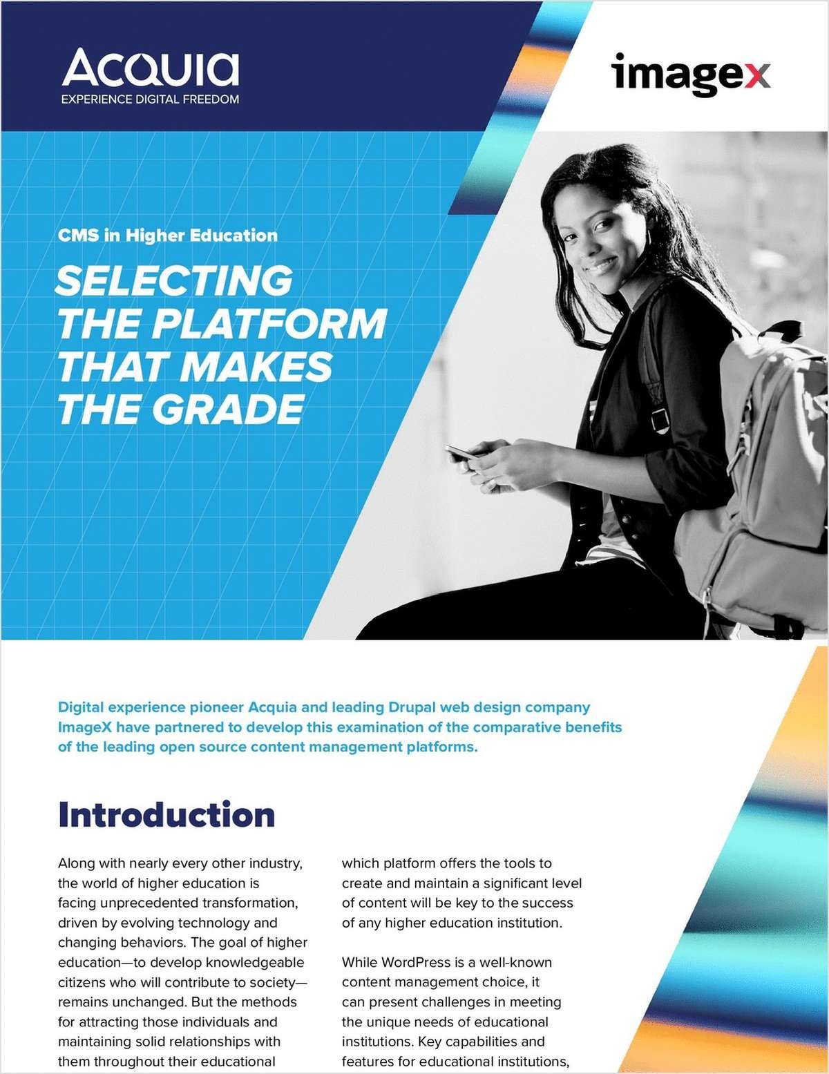 Content Management Systems in Higher Education