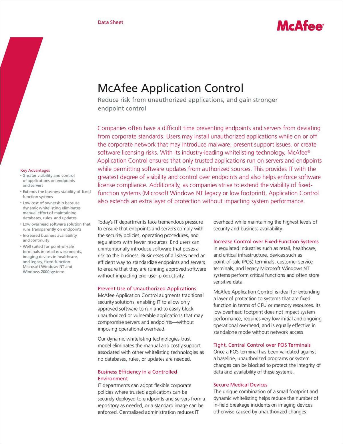 Key to Reducing Risk from Unauthorized Applications