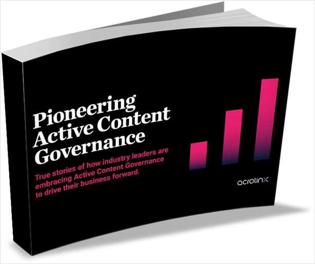 Pioneering Active Content Governance