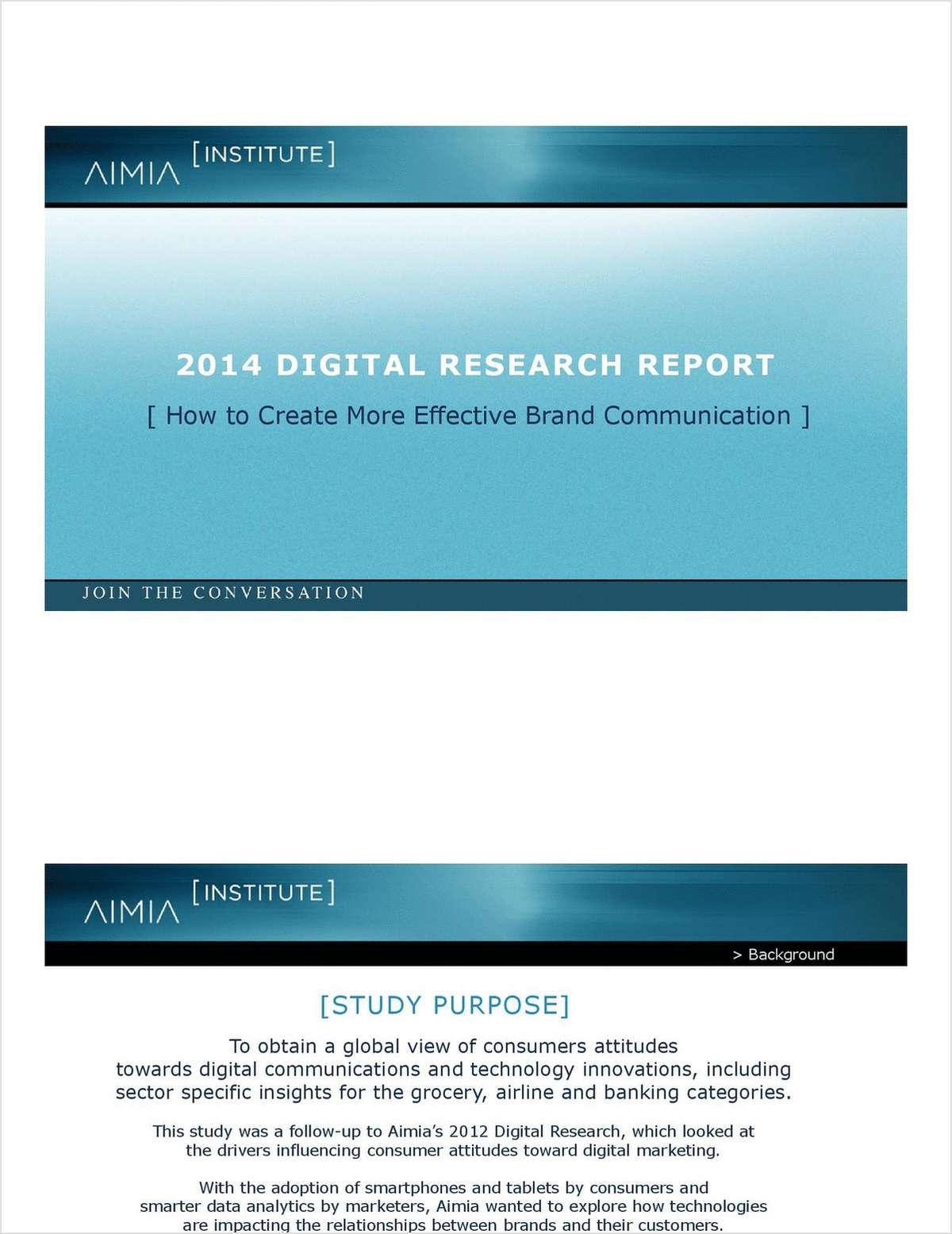 Digital Research Report