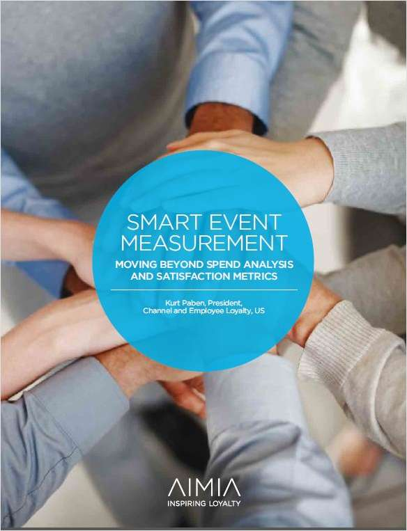 Smart Event Measurement: Moving Beyond Spend Analysis and Satisfaction Metrics
