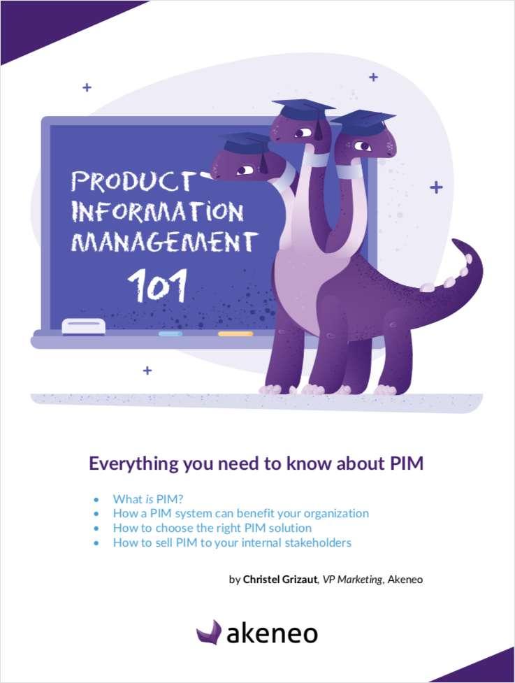 Product Information Management 101