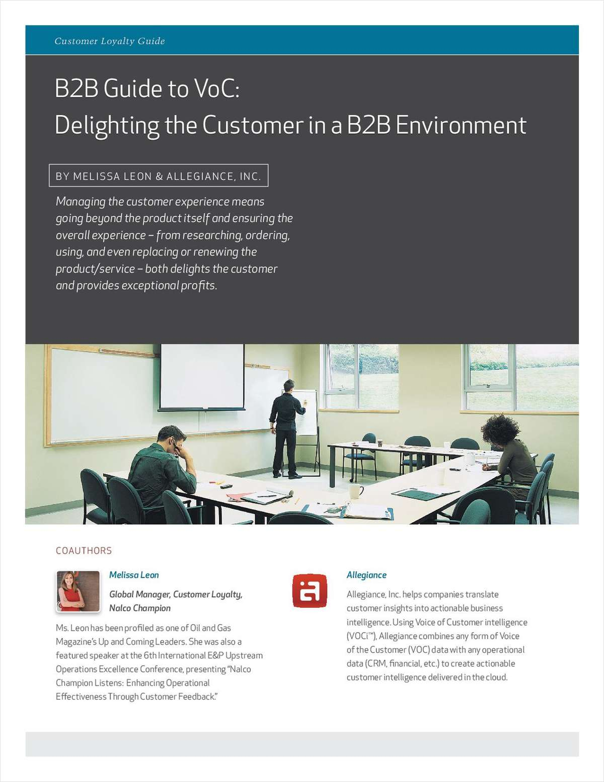 B2B Guide to VoC: Delighting the Customer in a B2B Environment