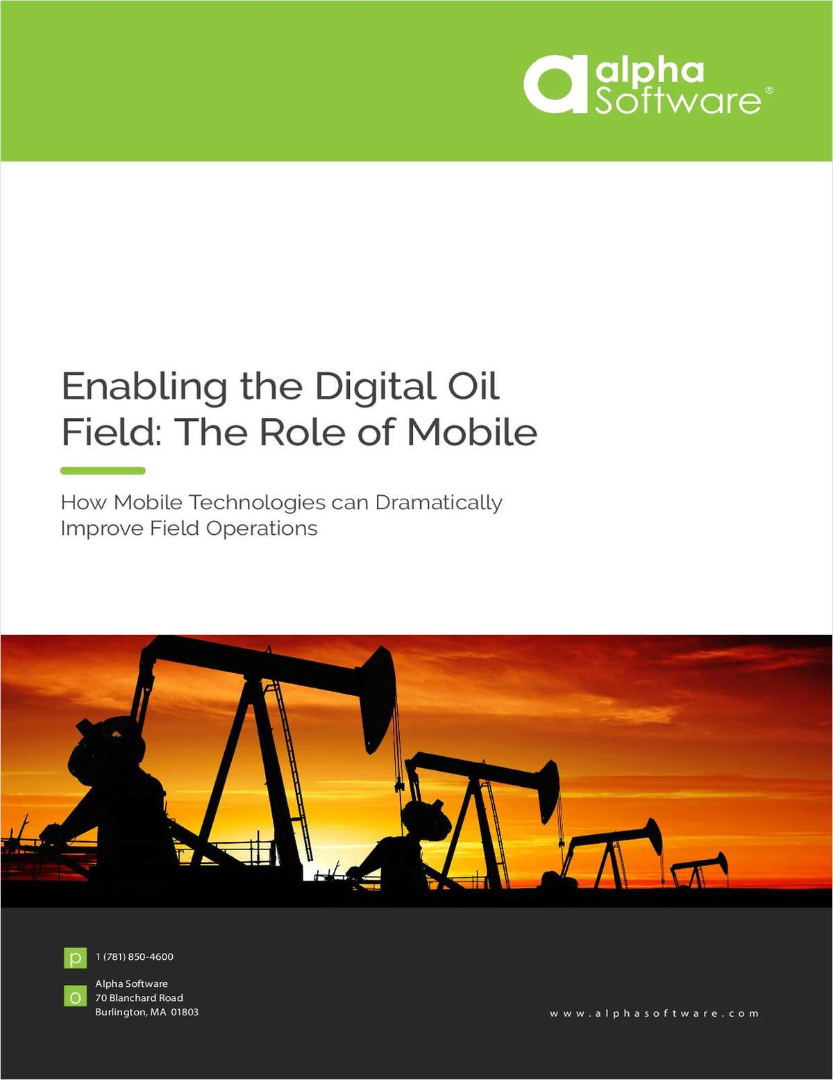 Enabling the Digital Oil Field: The Role of Mobile