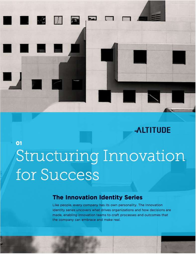Structuring Innovation for Success