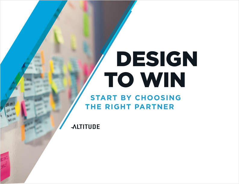Design to Win: Start by Choosing the Right Partner
