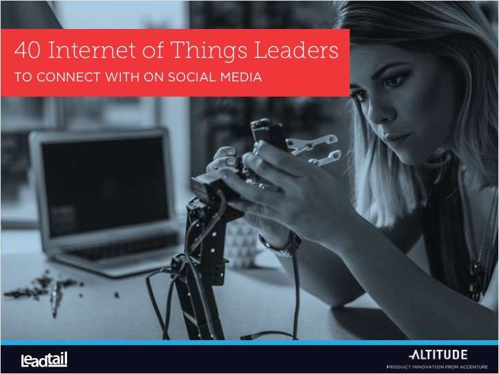 The IoT Leaders To Connect With on Social Media