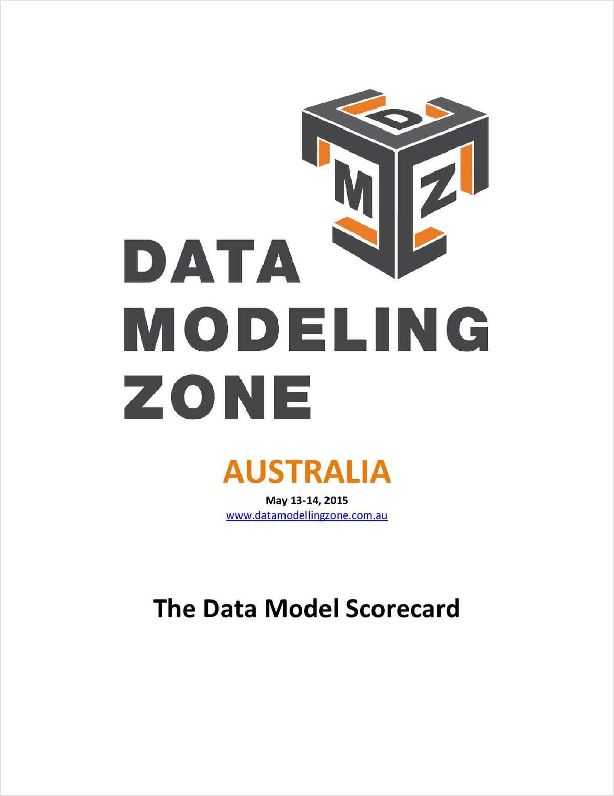 The Data Model Scorecard