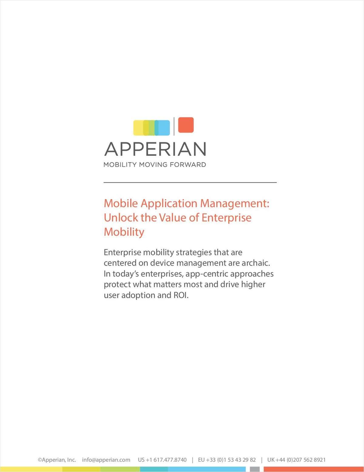 Unlock the Value of Enterprise Mobility