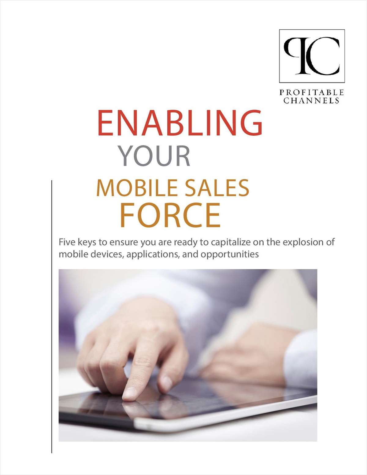 Enabling Your Mobile Sales Force