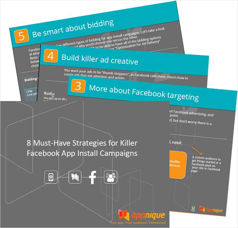 8 Must-Have Strategies for Killer Facebook App Install Campaigns