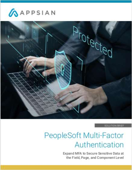 PeopleSoft Multi-Factor Authentication