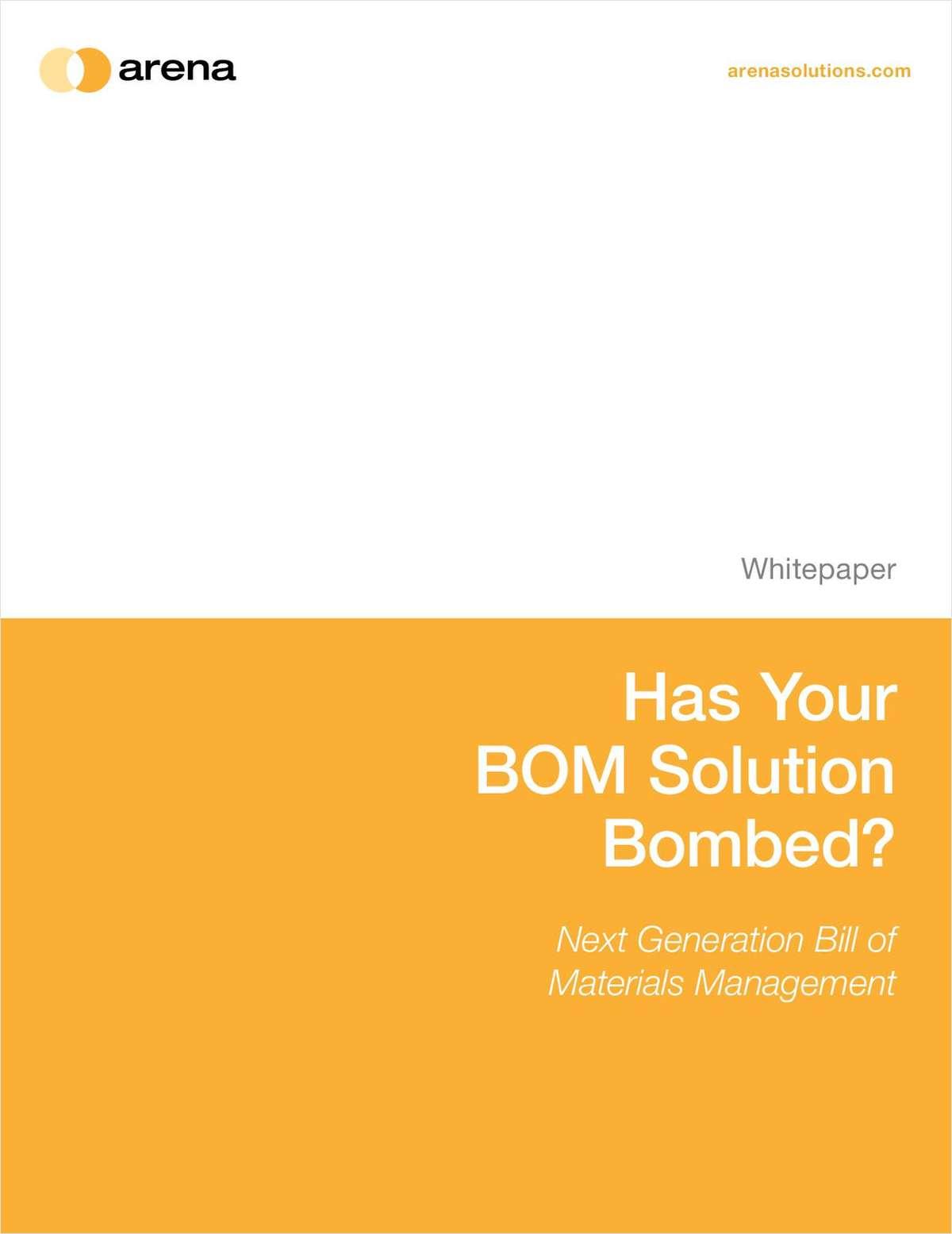 Beyond BOM 101: Next Generation of Bill Materials Management