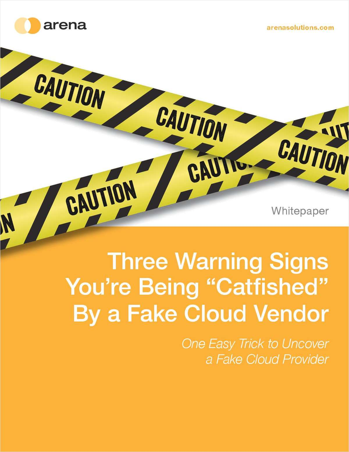 Three Warning Signs You're Being 'Catfished' By a Fake Cloud Vendor