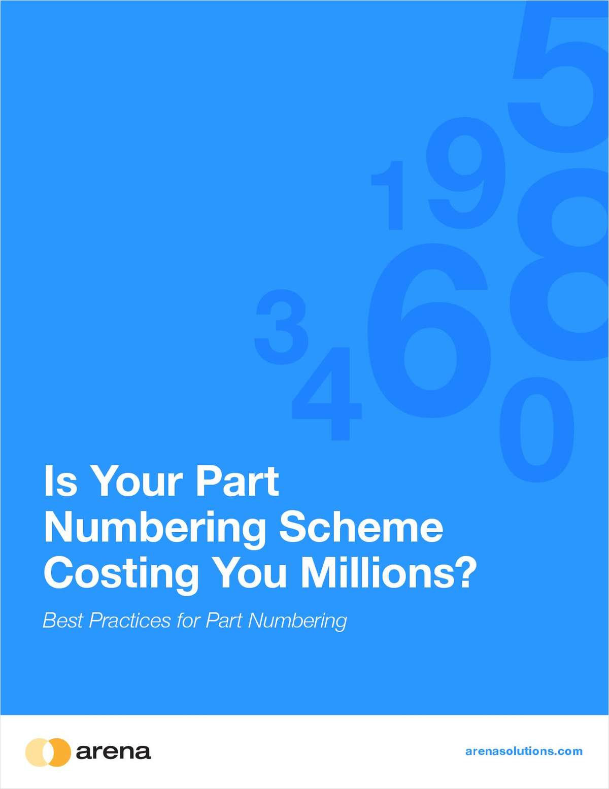 Is Your Part Numbering Scheme Costing You Millions?
