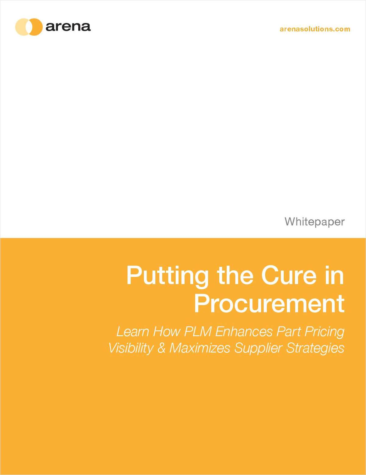 Putting the Cure in Procurement