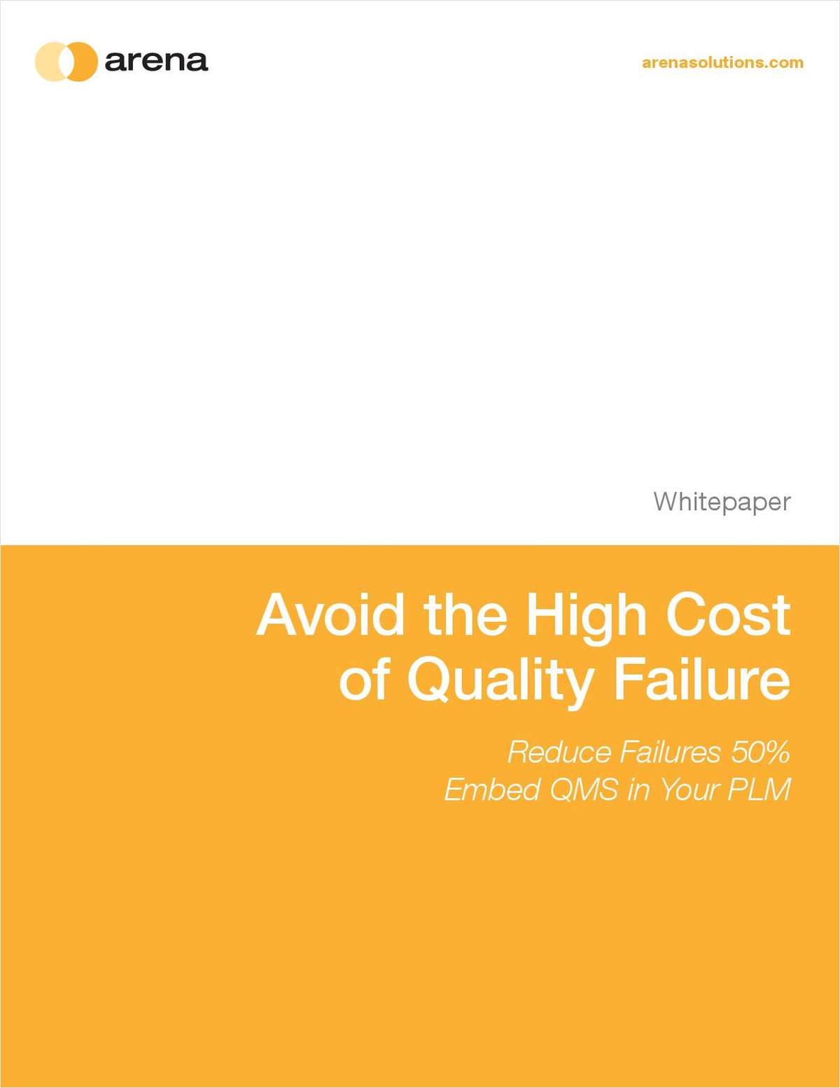 Avoid the High Cost of Quality Failure