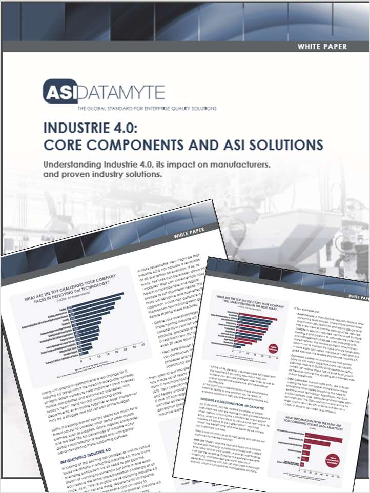 Harness the Power of Industrie 4.0 and IIoT