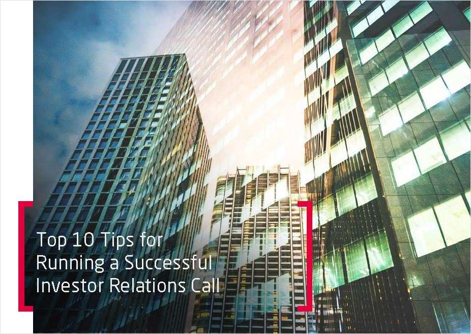 Top 10 Tips for Running a Successful Investor Relations Call