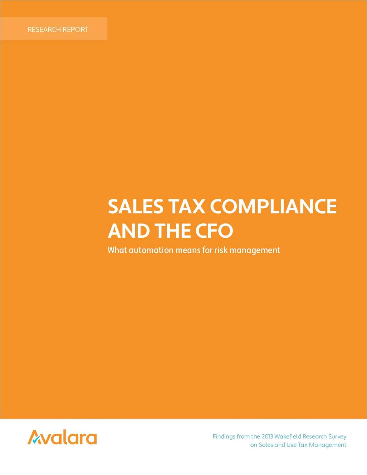 Sales Tax Compliance And The CFO:  What Automation Means For Risk Management