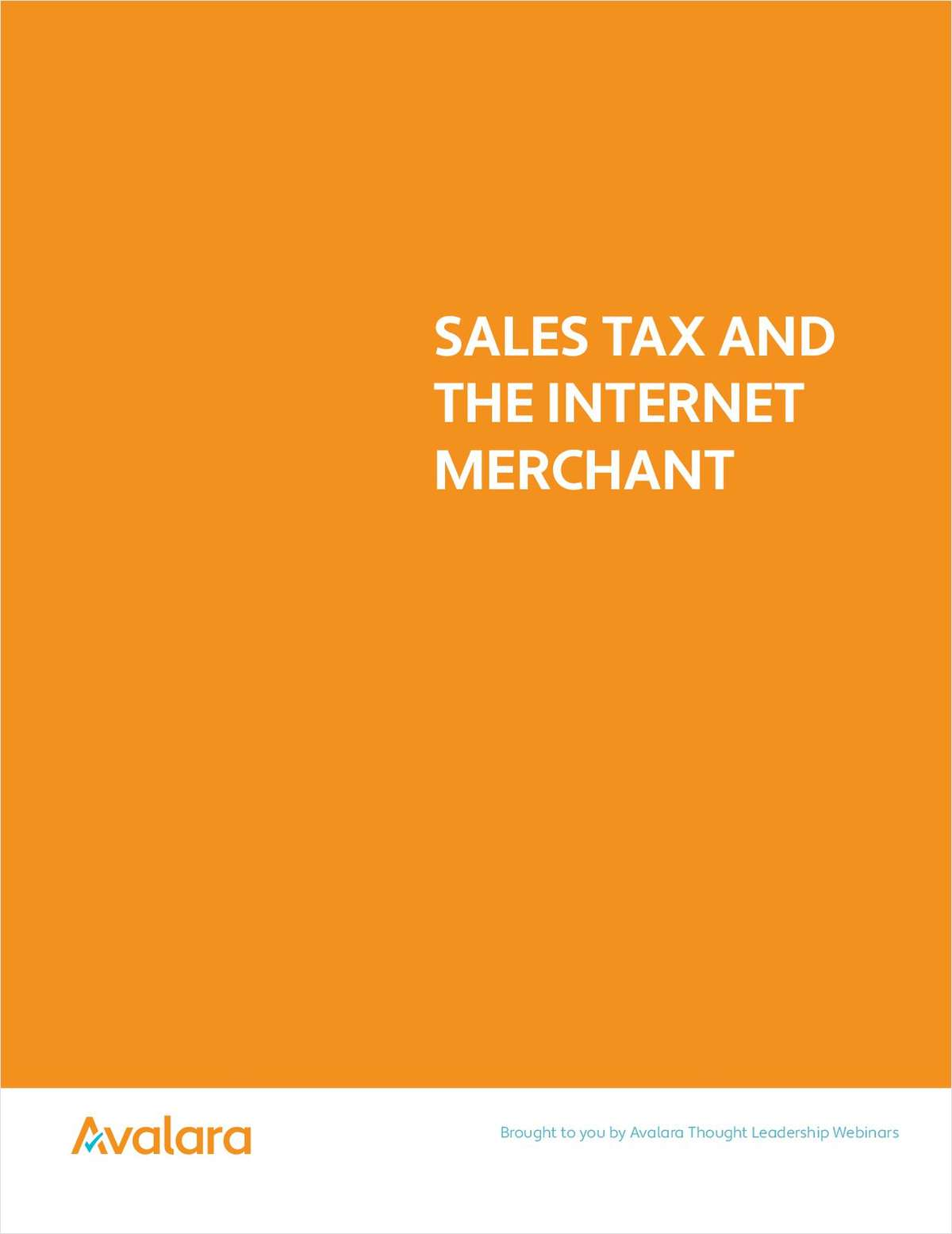 Sales Tax and the Internet Merchant