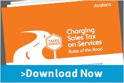 Charging Sales Tax on Services:  Rules of the Road