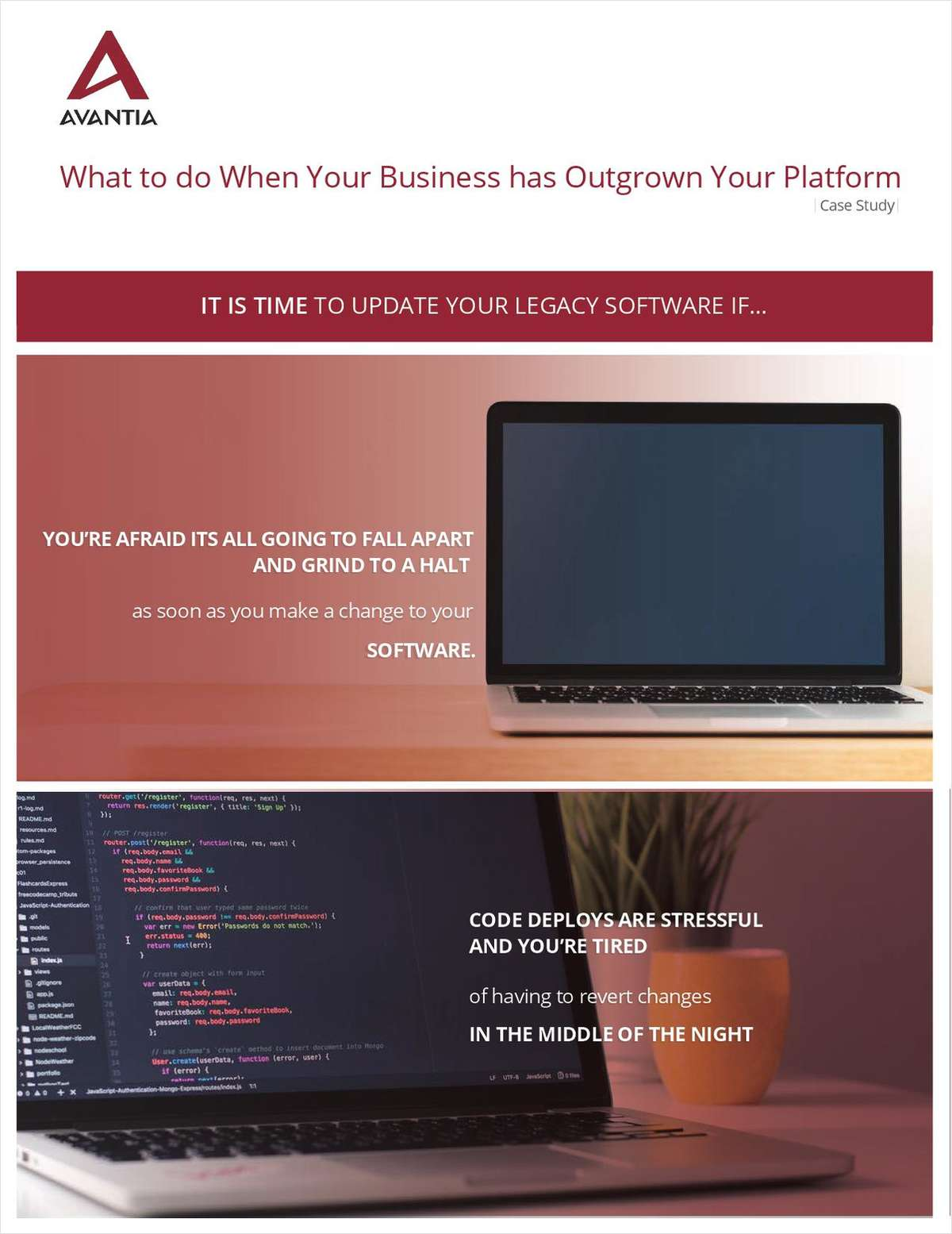 What to do When your Business has Outgrown your Current Software Systems.