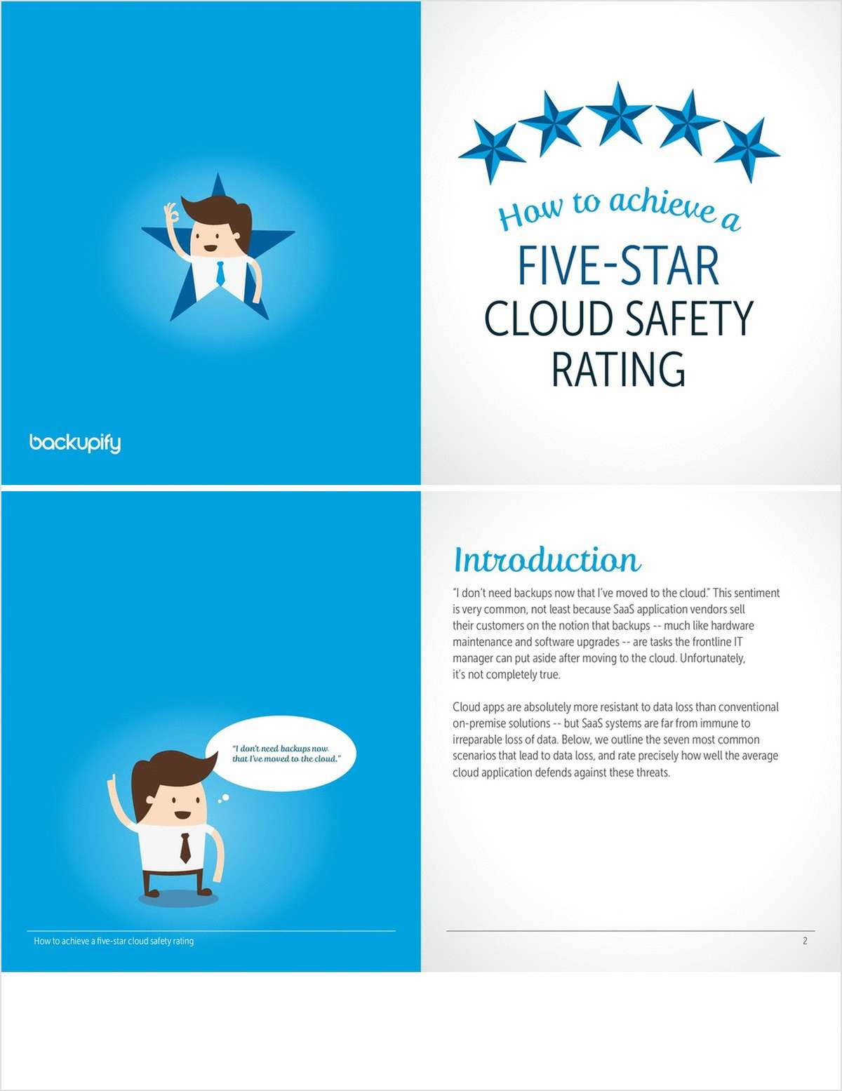 How to Achieve a Five Star Cloud Safety Rating