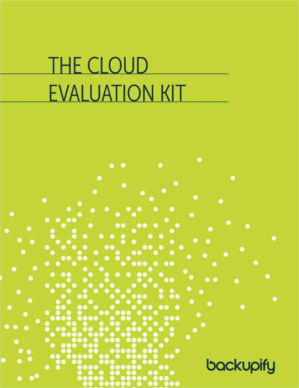 The Cloud Vendor Evaluation Kit