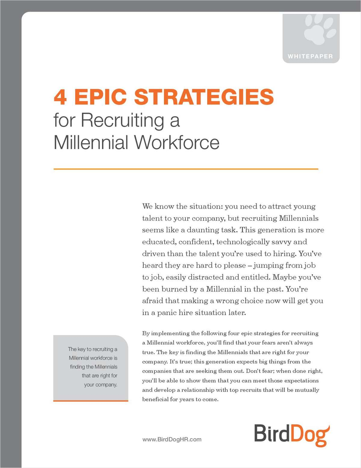 Epic Strategies for Recruiting a Millennial Workforce