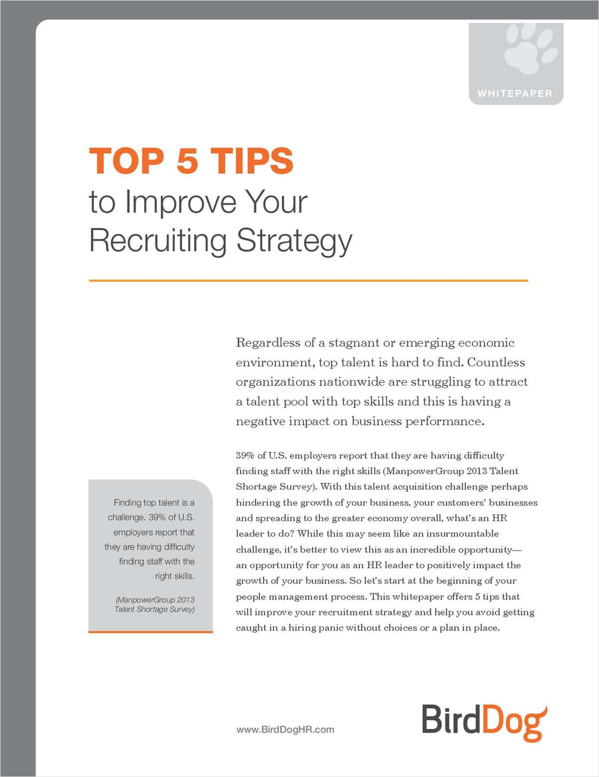 Top 5 Tips to Improve Your Recruiting Strategy