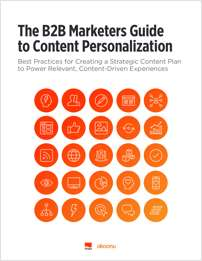 B2B Marketers Guide to Content Personalization