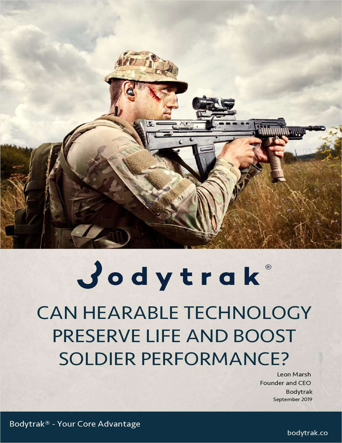 Can Hearable Technology Preserve Life and Boost Soldier Performance?