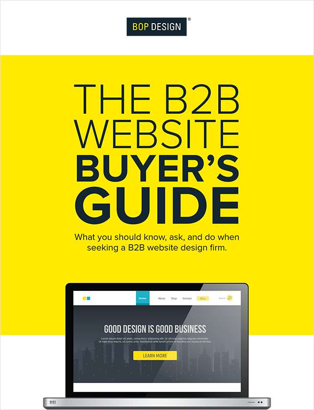 The B2B Website Buyer's Guide