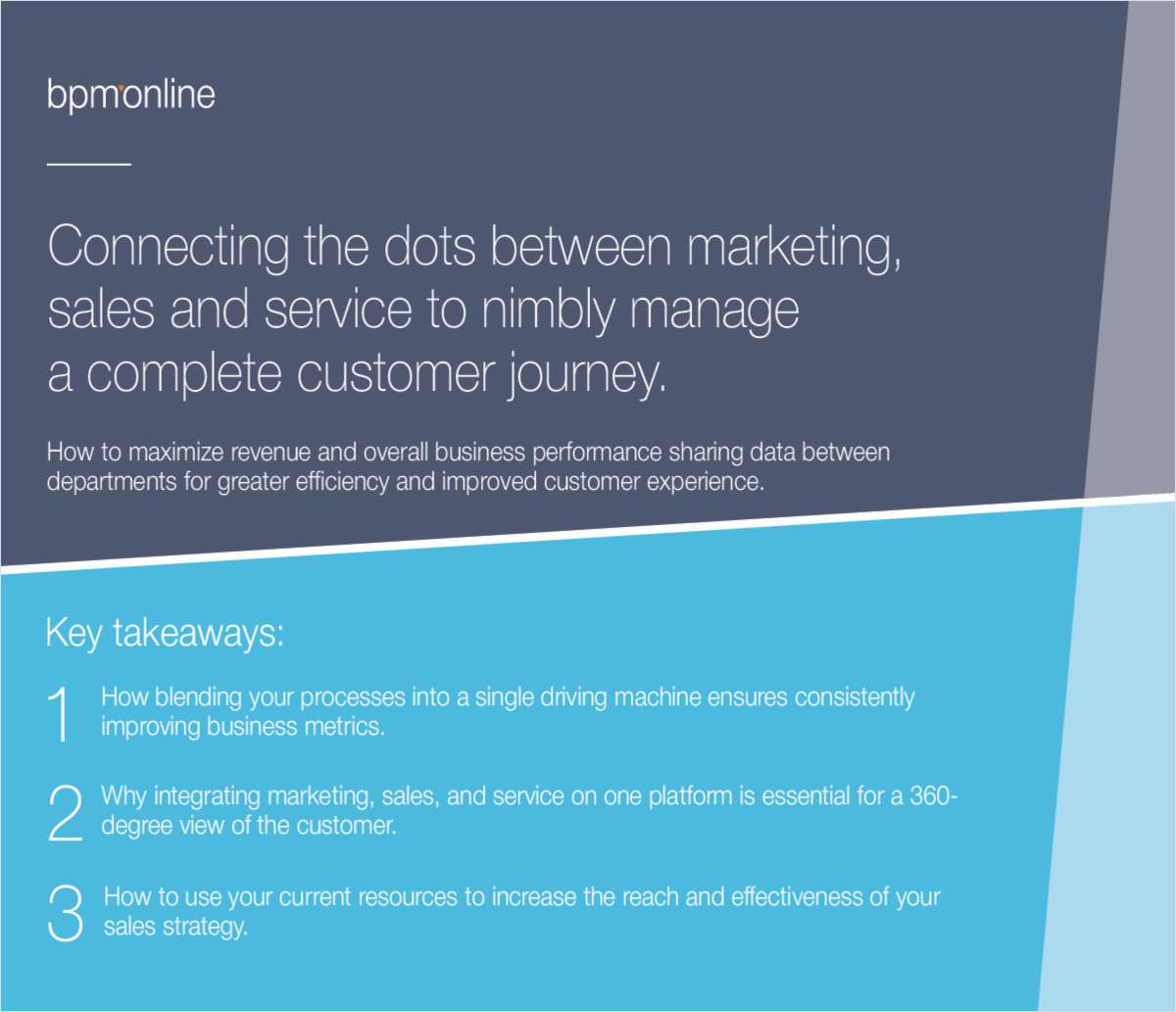 How to increase revenue by aligning marketing, sales and service