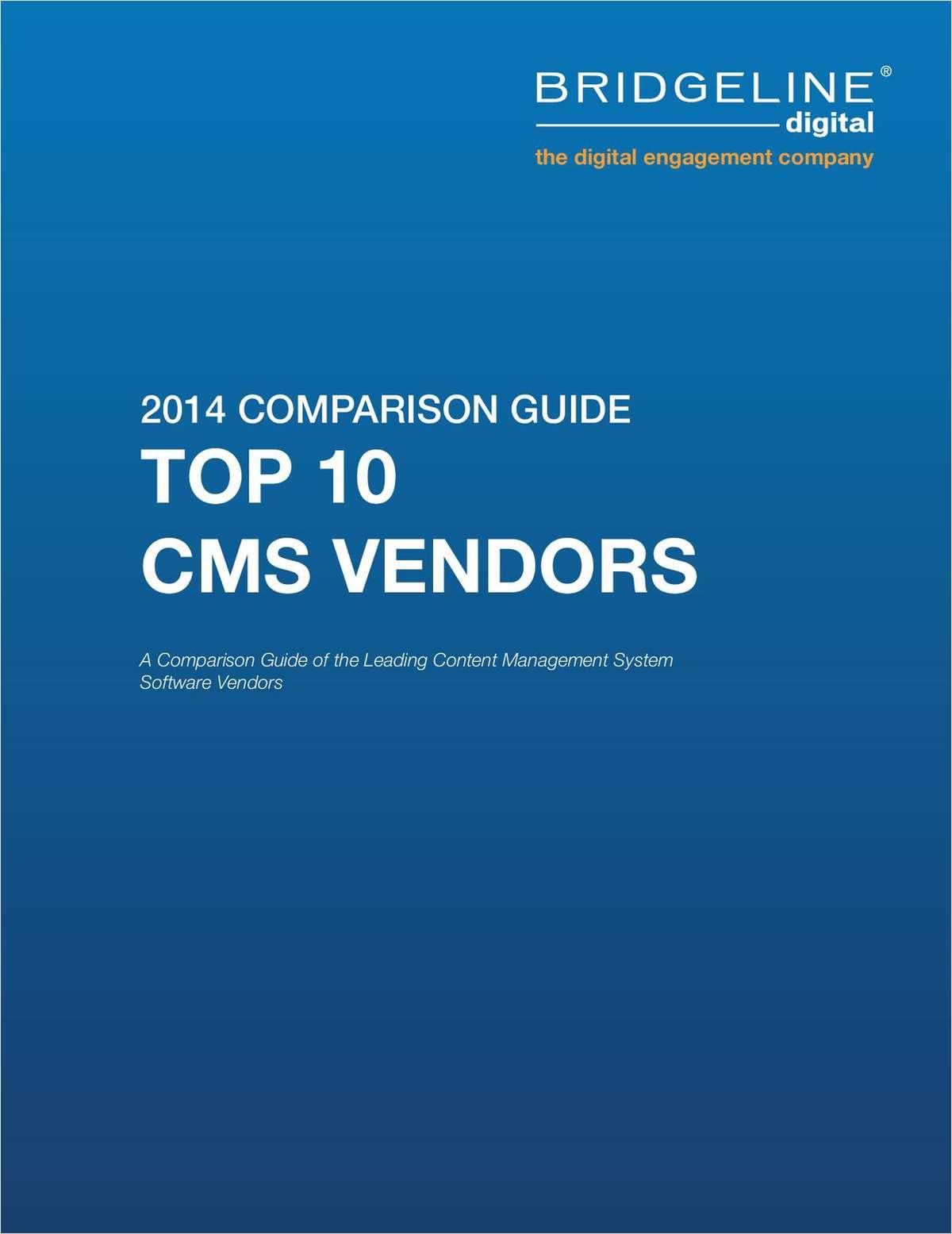 Top 10 Content Management System Comparison Guide