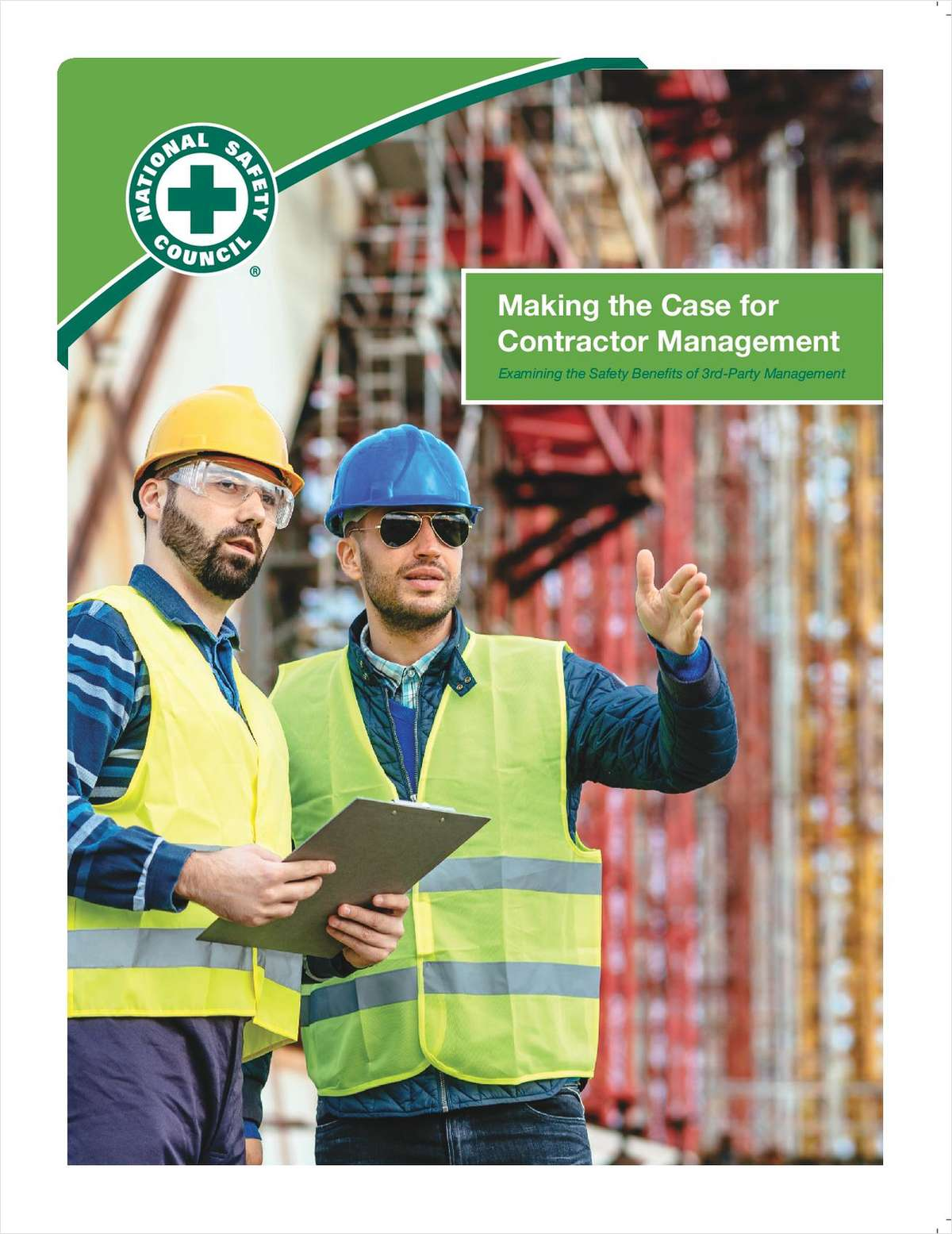 NSC Study: MAKING THE CASE FOR CONTRACTOR MANAGEMENT (Full Report)