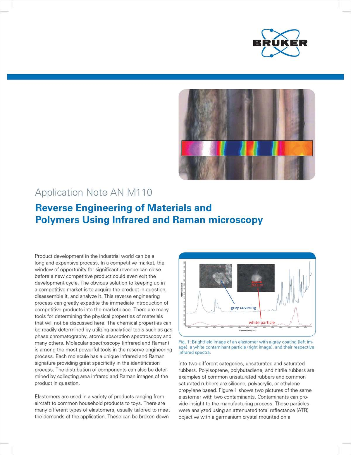 Reverse Engineering of Materials and Polymers Using Infrared and Raman Microscopy
