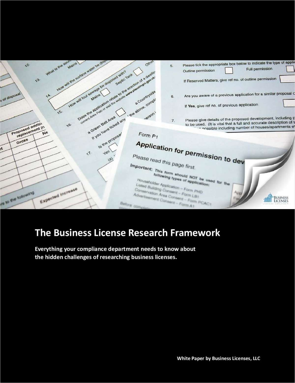 The Business License Research Framework