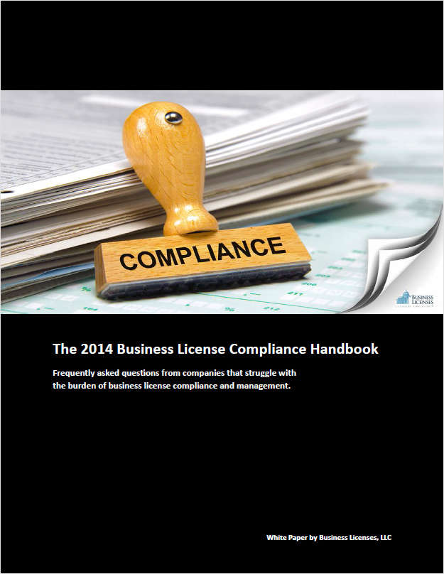 The Business License Compliance Handbook