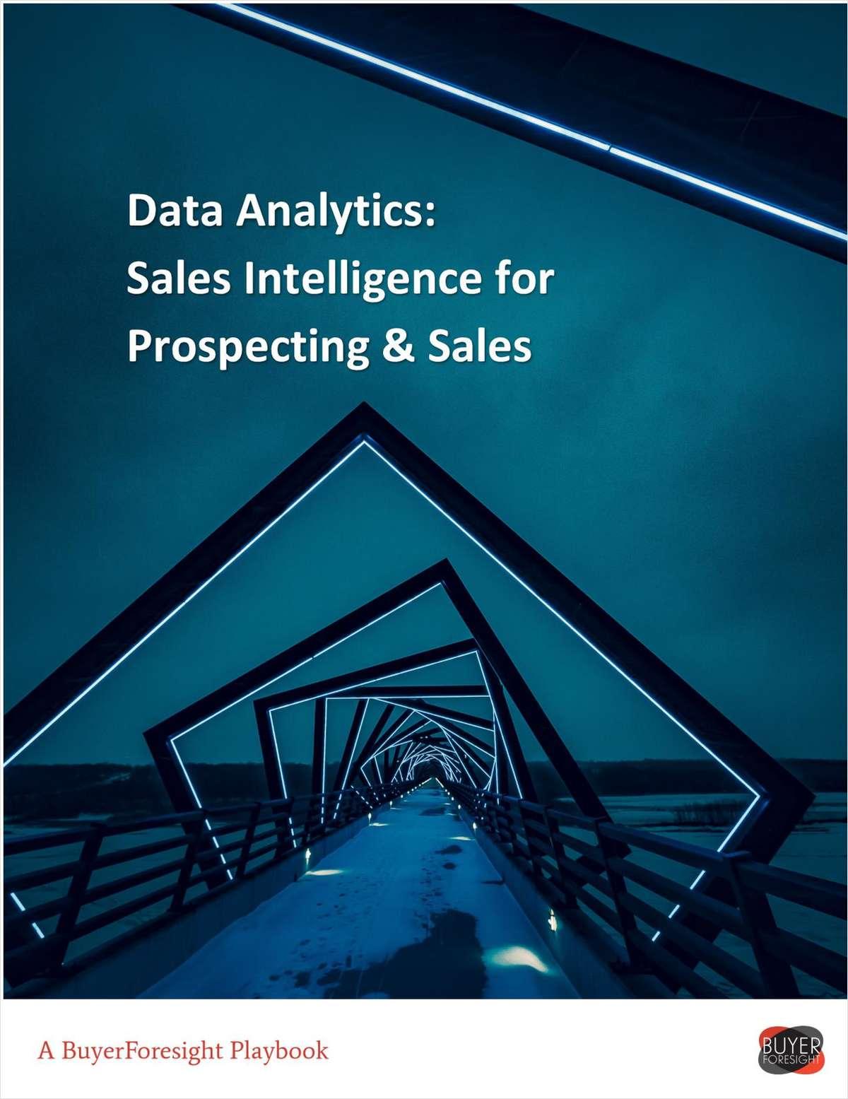 Sales Intelligence playbook for Data Analytics companies