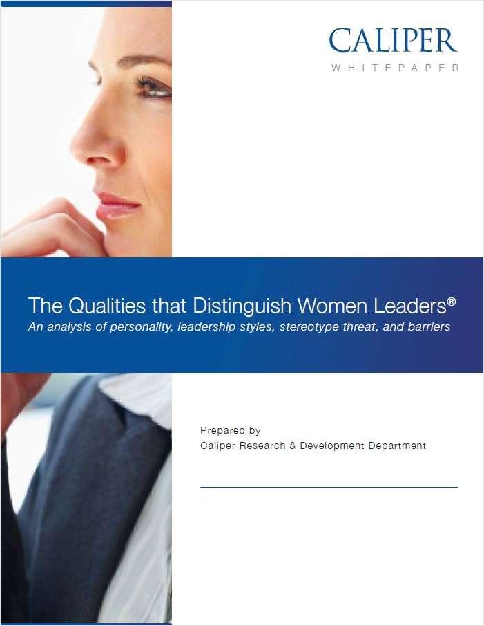 The Qualities that Distinguish Women Leaders®