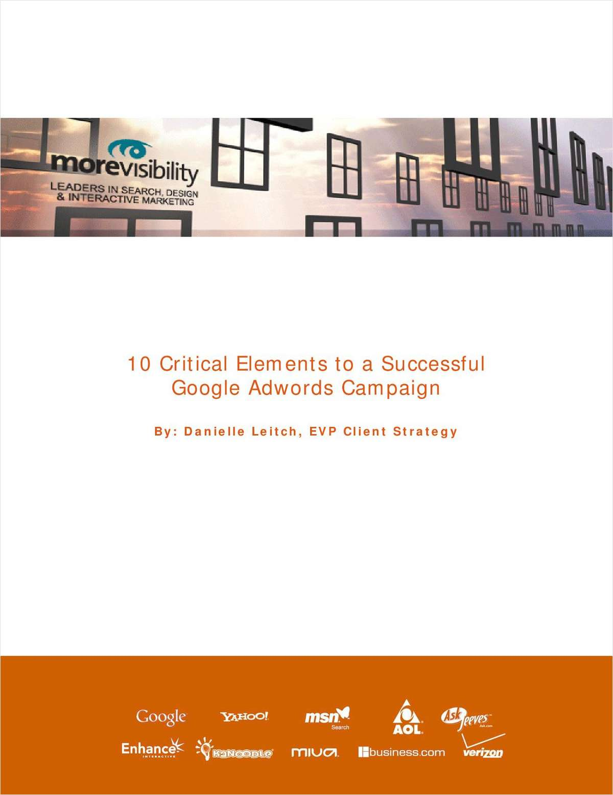 10 Critical Elements for a Successful Google AdWords Campaign