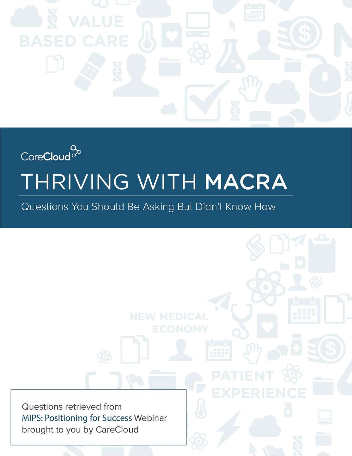 Thriving with MACRA
