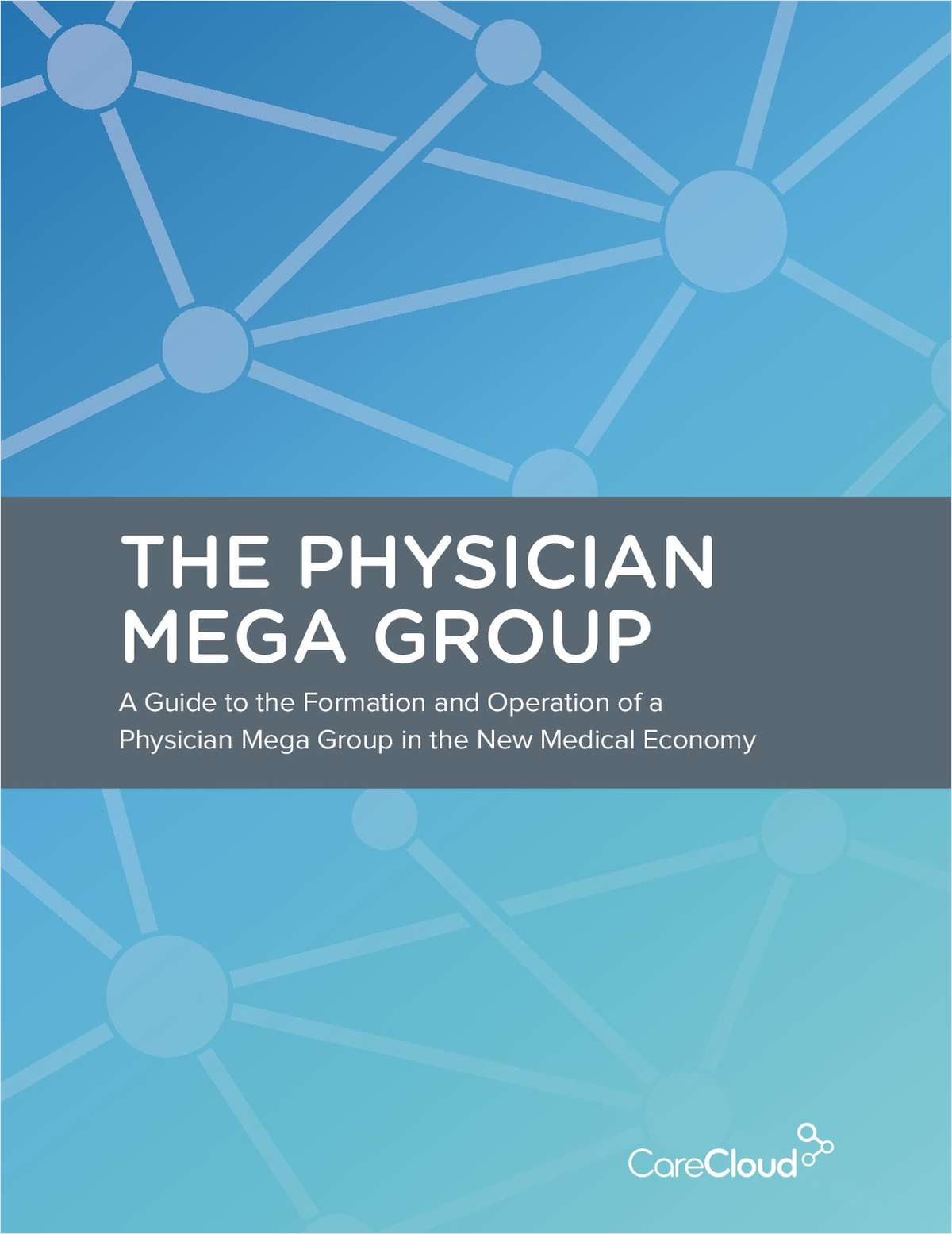 The Physician Mega Group: A Formation and Operations Guide