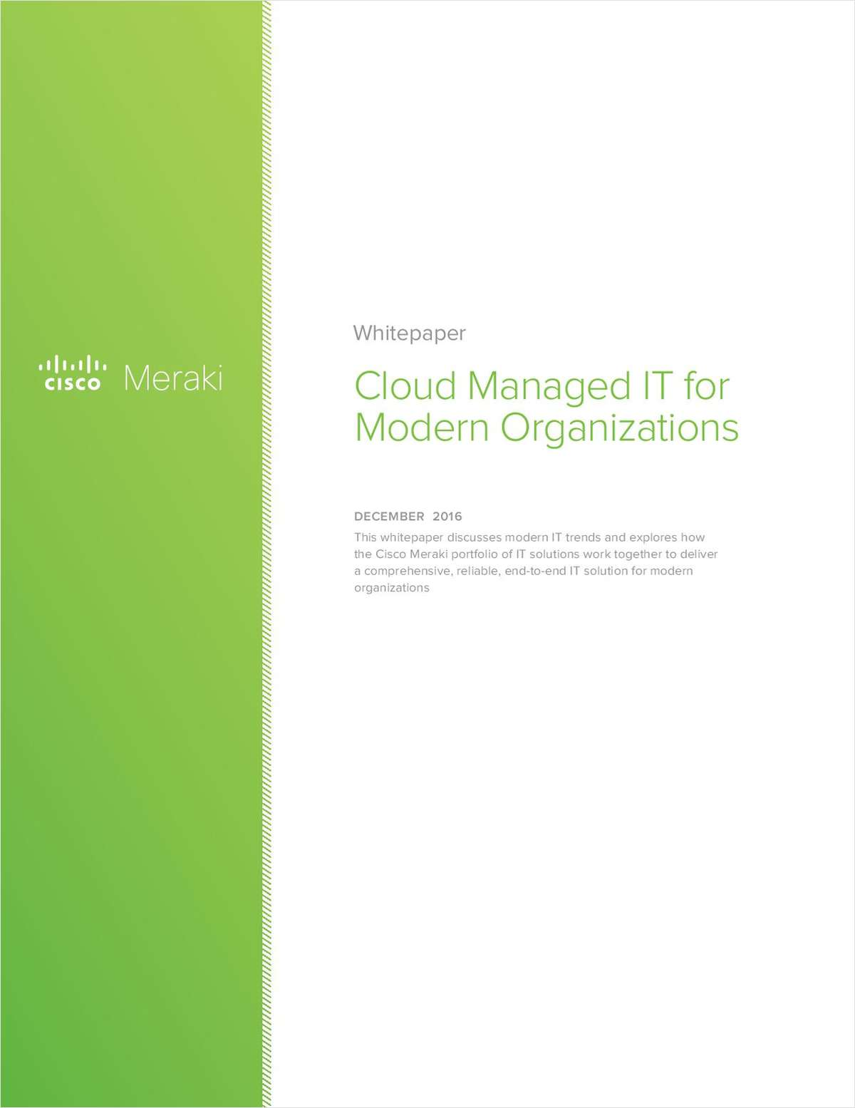 Cloud Managed IT for Modern Organizations