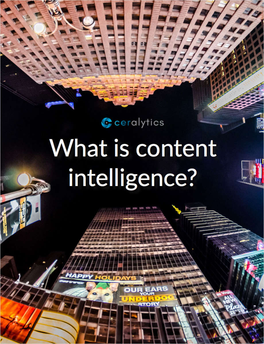 What is Content Intelligence? How can it help you create high-quality content with confidence?