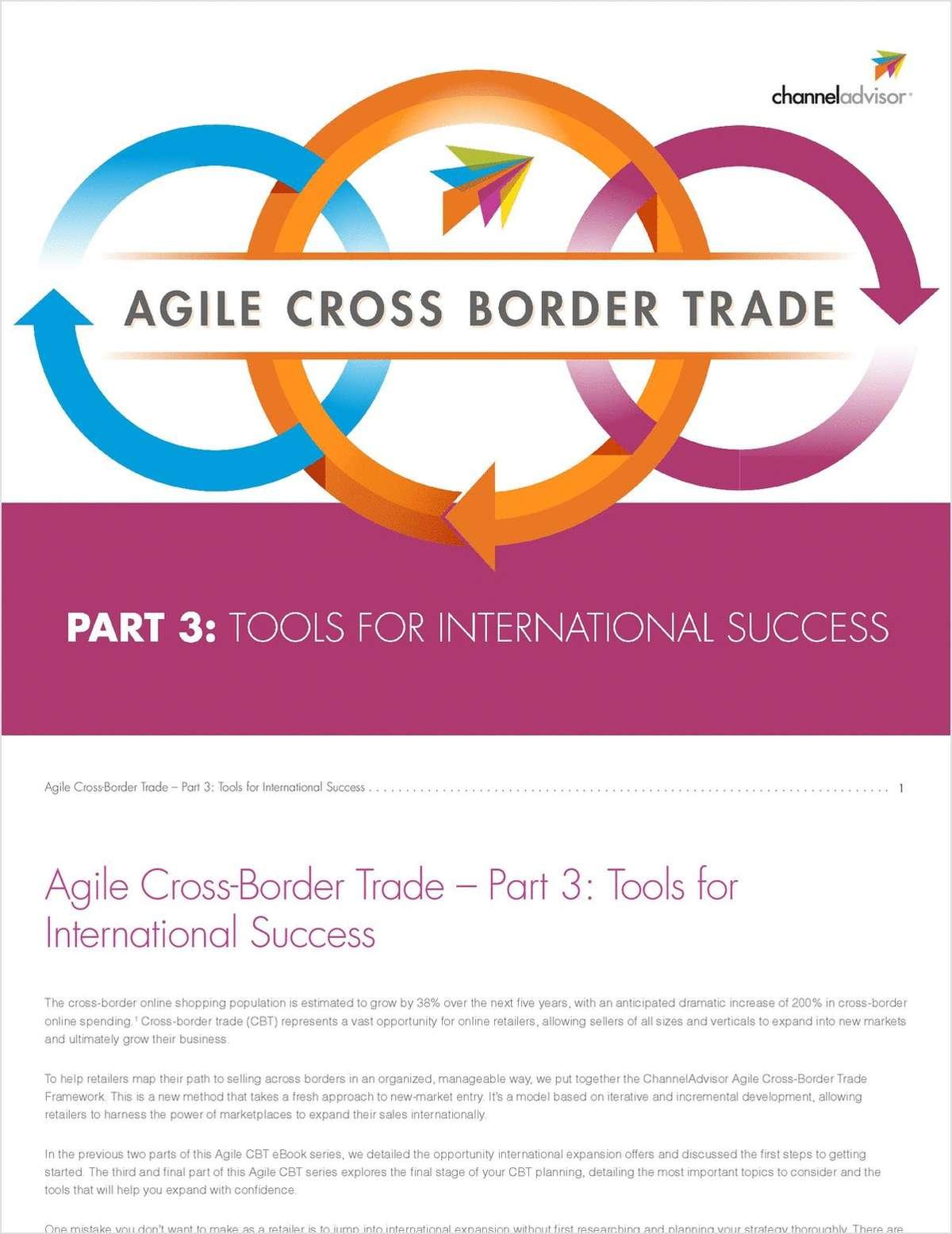 Agile Cross-Border Trade - Part 3: Tools for International Success